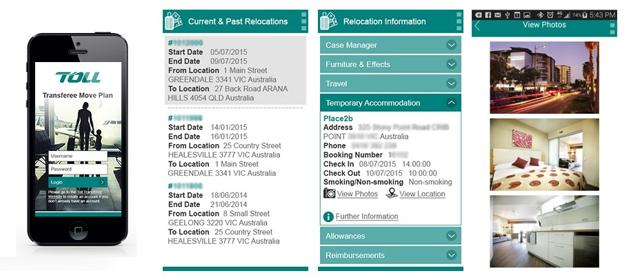 Case study toll move plan letter app